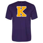 Performance Purple Tee-K
