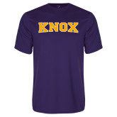Syntrel Performance Purple Tee-Knox