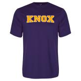 Performance Purple Tee-Knox