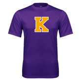 Syntrel Performance Purple Tee-K