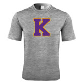 Performance Grey Heather Contender Tee-K