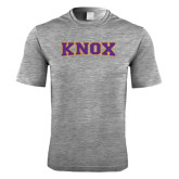 Performance Grey Heather Contender Tee-Knox