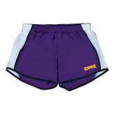 Ladies Purple/White Team Short-Knox
