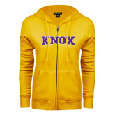 ENZA Ladies Gold Fleece Full Zip Hoodie-Knox