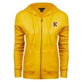 ENZA Ladies Gold Fleece Full Zip Hoodie-K