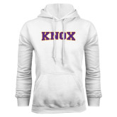White Fleece Hood-Knox