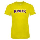Adidas Gold Logo T Shirt-Knox
