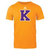 Adidas Gold Logo T Shirt-K
