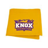 Gold Sweatshirt Blanket-Prairie Fire Logo