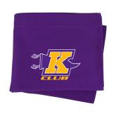 Purple Sweatshirt Blanket-K Club