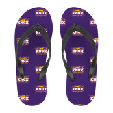 Full Color Flip Flops-Prairie Fire Logo