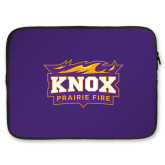 15 inch Neoprene Laptop Sleeve-Prairie Fire Logo