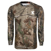 Realtree Camo Long Sleeve T Shirt w/Pocket-K