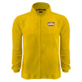 Fleece Full Zip Gold Jacket-Prairie Fire Logo