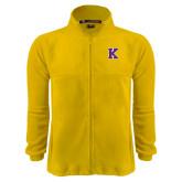 Fleece Full Zip Gold Jacket-K