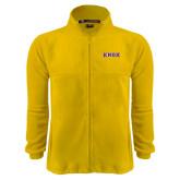 Fleece Full Zip Gold Jacket-Knox