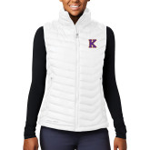Columbia Lake 22 Ladies White Vest-K