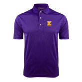 Purple Dry Mesh Polo-K