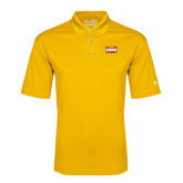 Under Armour Gold Performance Polo-Prairie Fire Logo