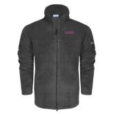 Columbia Full Zip Charcoal Fleece Jacket-Knox