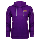 Adidas Climawarm Purple Team Issue Hoodie-Prairie Fire Logo