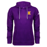 Adidas Climawarm Purple Team Issue Hoodie-K