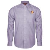 Red House Purple Plaid Long Sleeve Shirt-K Club
