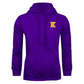 Purple Fleece Hoodie-K