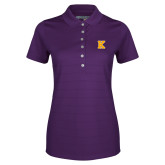 Ladies Callaway Opti Vent Purple Polo-K