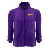 Fleece Full Zip Purple Jacket-Knox