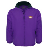 Purple Survivor Jacket-Prairie Fire Logo