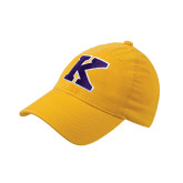 Gold Flexfit Mid Profile Hat-K