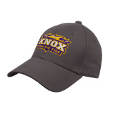 Steel Grey Heavyweight Twill Pro Style Hat-Prairie Fire Logo
