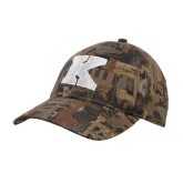 Oilfield Camo Structured Hat-K