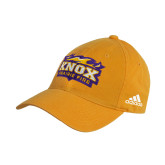 Adidas Gold Slouch Unstructured Low Profile Hat-Prairie Fire Logo