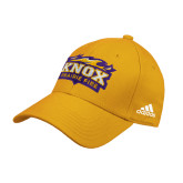 Adidas Gold Structured Adjustable Hat-Prairie Fire Logo