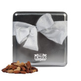 Decadent Chocolate Clusters Silver Medium Tin-Prairie Fire Logo Engraved
