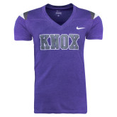 NIKE Ladies Orchid Touchdown Tee-