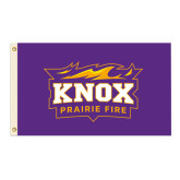 3 ft x 5 ft Flag-Prairie Fire Logo