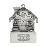 Pewter House Ornament-Prairie Fire Logo Engraved