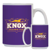 Full Color White Mug 15oz-Prairie Fire Logo