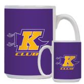 Full Color White Mug 15oz-K Club