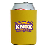 Collapsible Gold Can Holder-Prairie Fire Logo