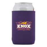 Collapsible Purple Can Holder-Prairie Fire Logo