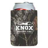 Collapsible Mossy Oak Camo Can Holder-Prairie Fire Logo