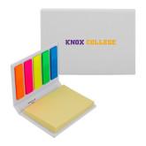 Micro Sticky Book-Knox College Flat