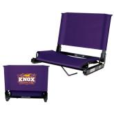 Stadium Chair Purple-Prairie Fire Logo