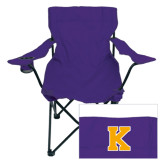 Deluxe Purple Captains Chair-K