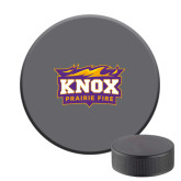 Hockey Puck Stress Reliever-Prairie Fire Logo