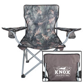 Hunt Valley Camo Captains Chair-Prairie Fire Logo